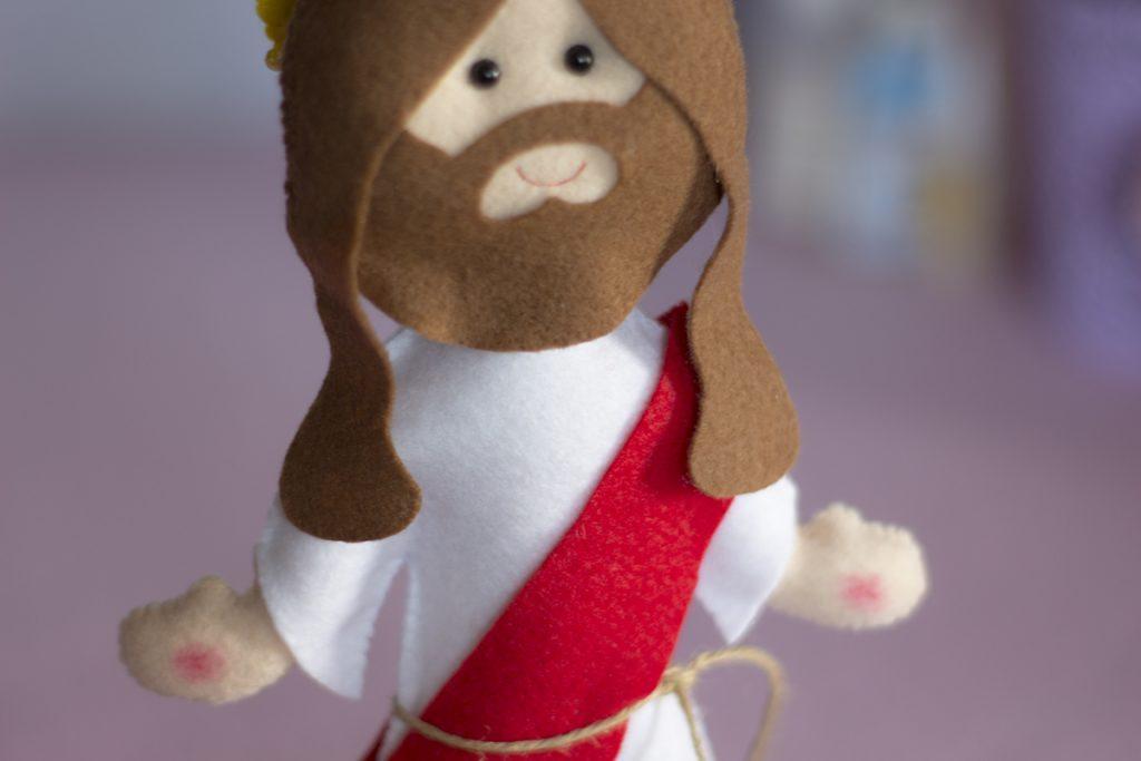 apostila jesus em feltro