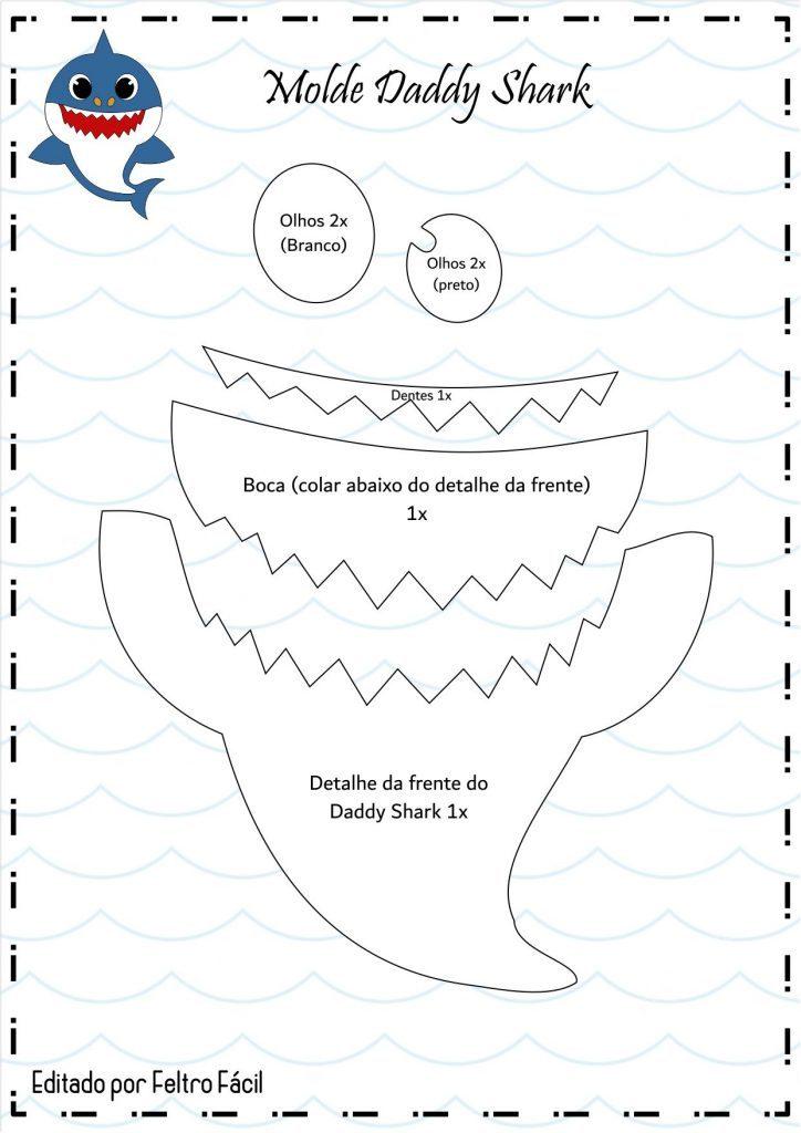 Molde Baby Shark