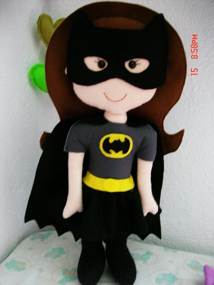 Super Heroína em Feltro