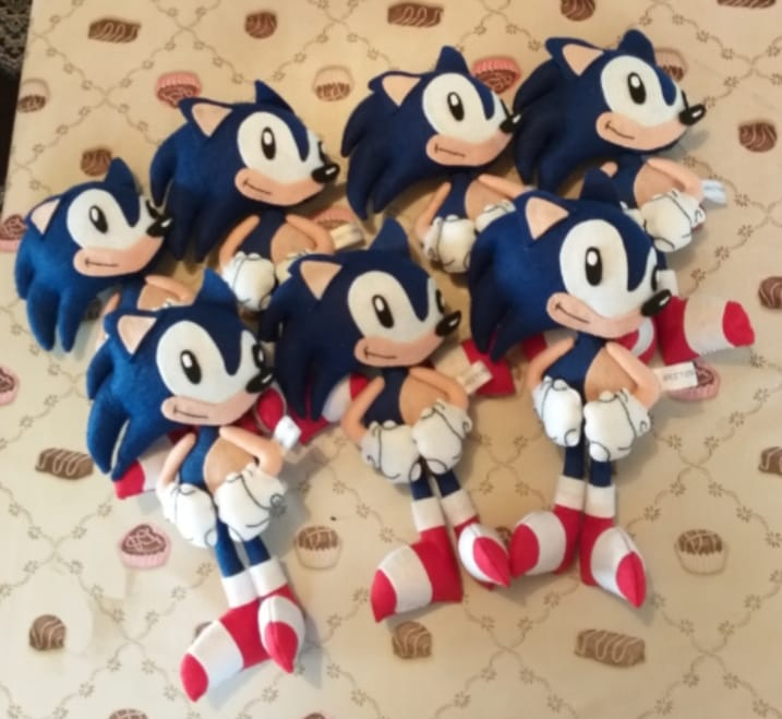 Molde Sonic de Feltro