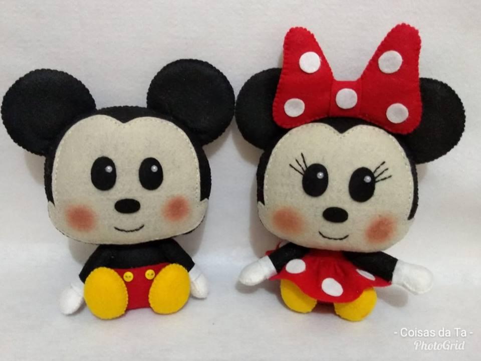 Molde Minnie e Mickey