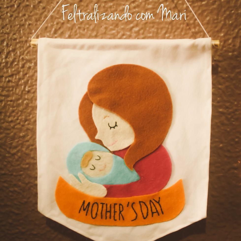 Dia das Mães em Feltro