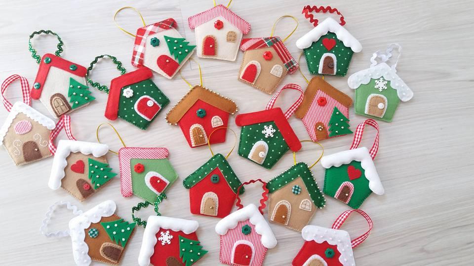 Decoração de Natal em Feltro