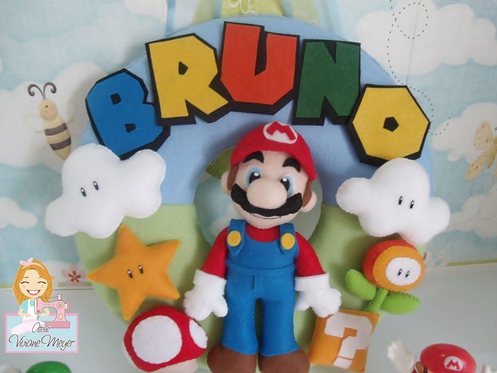 Feltro Super Mario