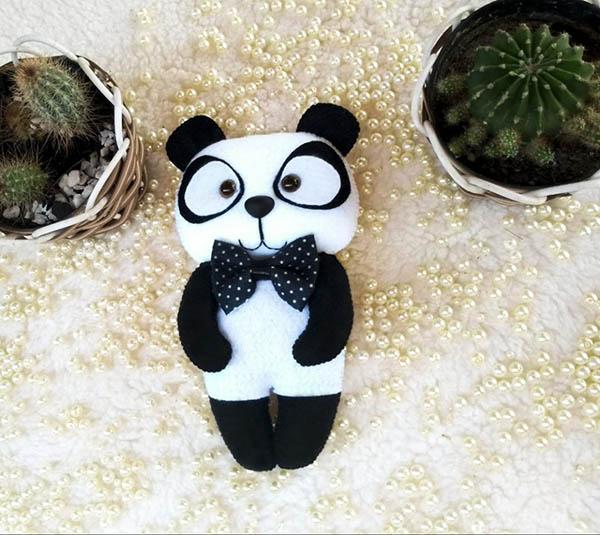 Ursinho Panda em Feltro