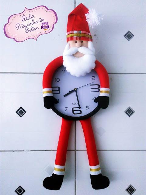 relógio papai noel
