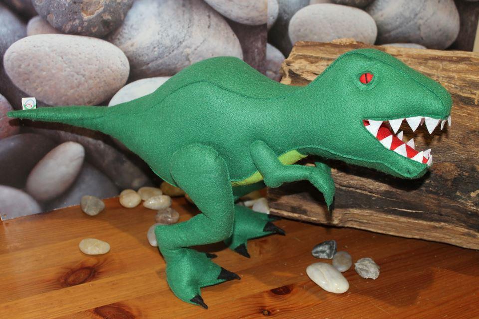 Tiranossauro Rex em Feltro