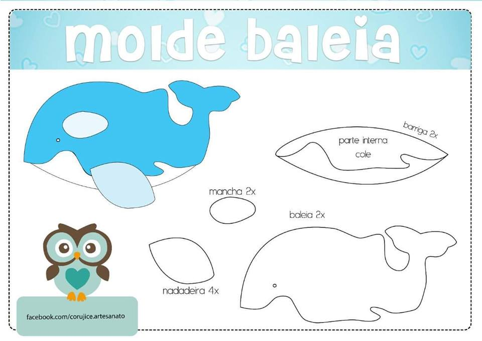 Molde Baleia