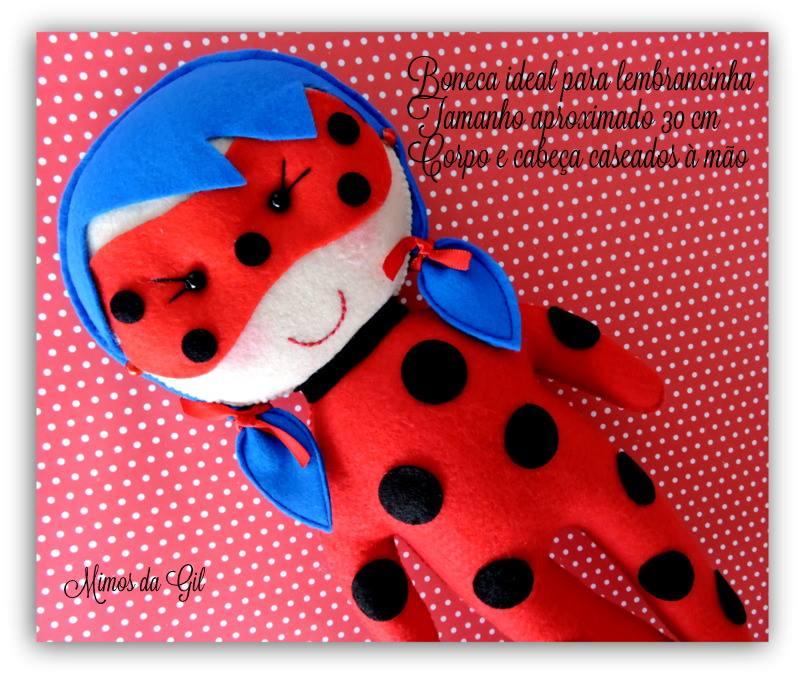Ladybug em Feltro