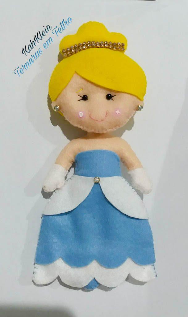 Princesa em Feltro