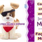 Cachorrinhos em feltro: moldes criativos para imprimir