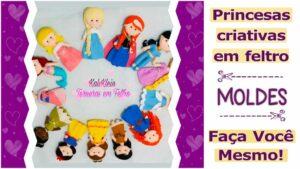 Read more about the article Moldes de princesas para imprimir [DIY]