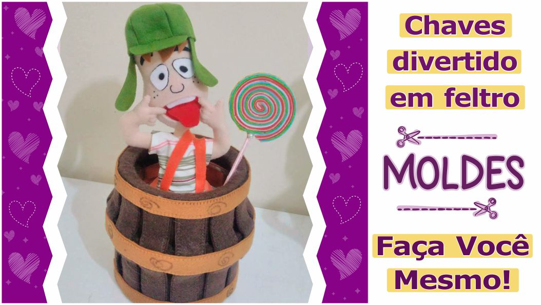 Read more about the article Chaves em Feltro | molde completo para imprimir – diy