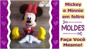 Read more about the article MINNIE EM FELTRO | MOLDE COMPLETO PARA IMPRIMIR