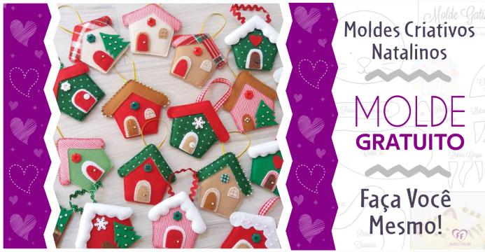 Enfeites de Natal | 10 Ideias Criativas Com Moldes!