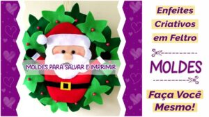 Read more about the article Enfeites de Natal em feltro: ideias criativas para fazer