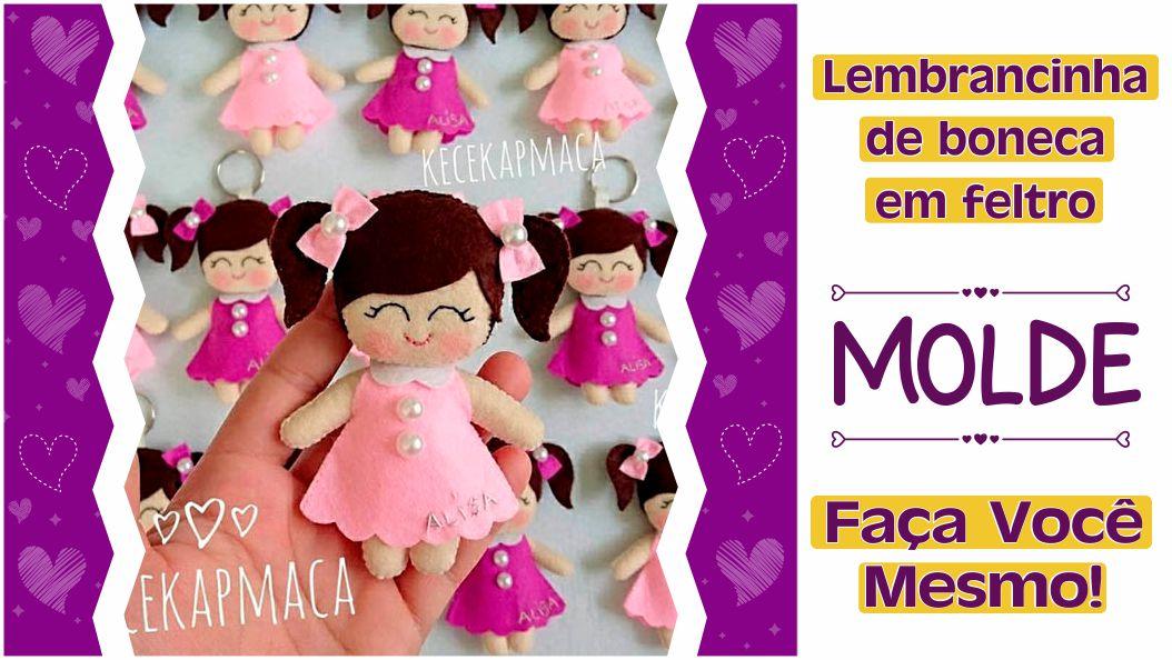 Read more about the article BONEQUINHAS EM FELTRO | FAÇA VOCÊ MESMO LINDAS LEMBRANCINHAS!