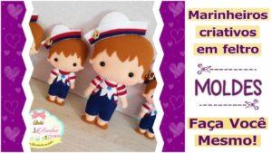 Read more about the article MOLDES DE MARINHEIROS CRIATIVOS – FAÇA VOCÊ MESMO!