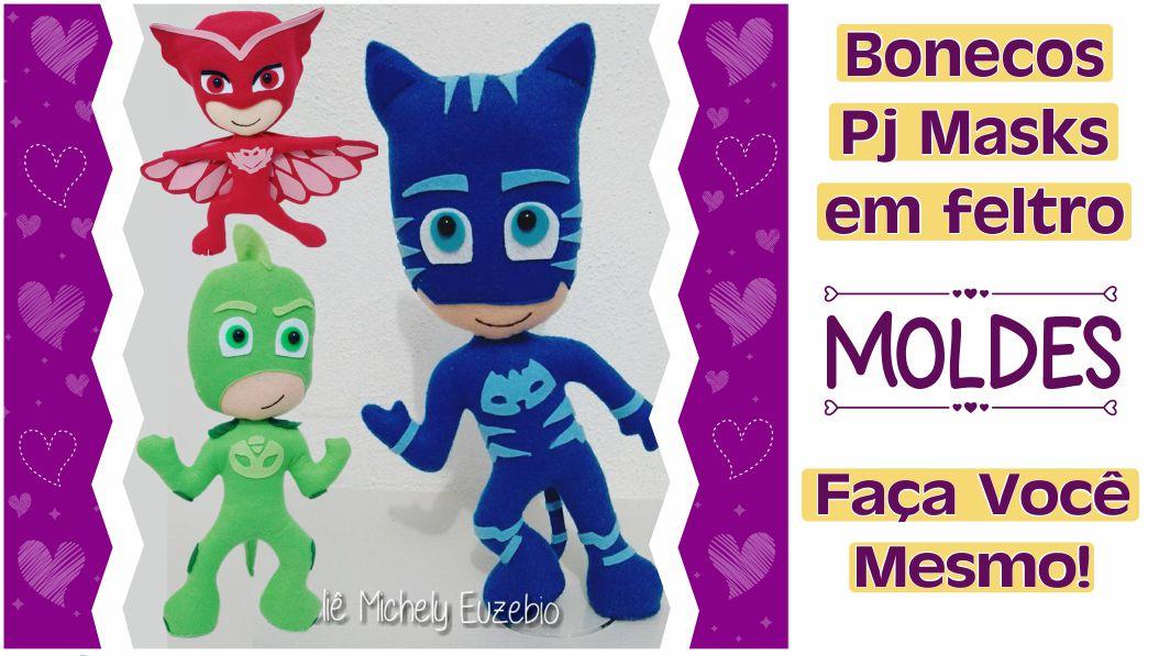 Read more about the article Moldes do Pj Masks para imprimir: faça você mesmo – diy