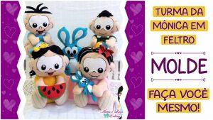 Read more about the article MOLDES TURMA DA MÔNICA BABY: FAÇA VOCÊ MESMO