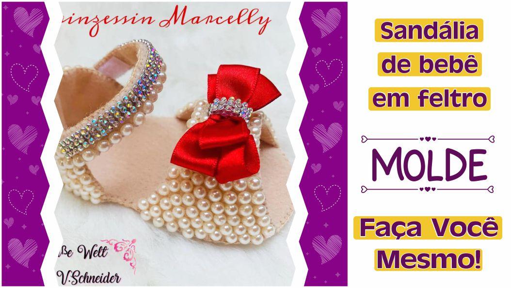 Read more about the article MOLDE SANDALINHA DE BEBÊ