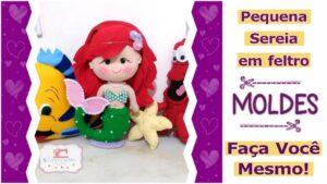 Read more about the article MOLDES GRATUITOS PEQUENA SEREIA