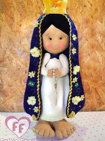 Apostila Nossa Senhora Aparecida em Feltro