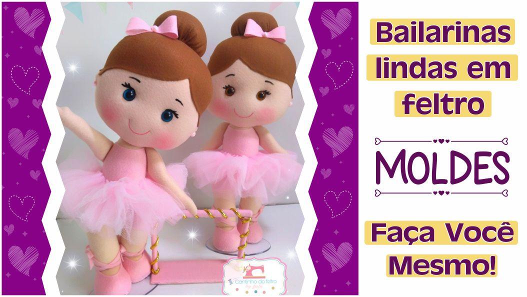 Read more about the article Molde de Bailarina de Feltro