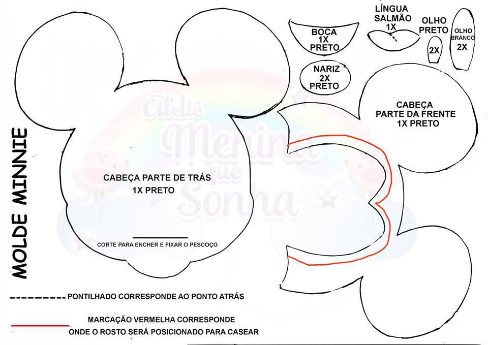 Molde Minne Mickey