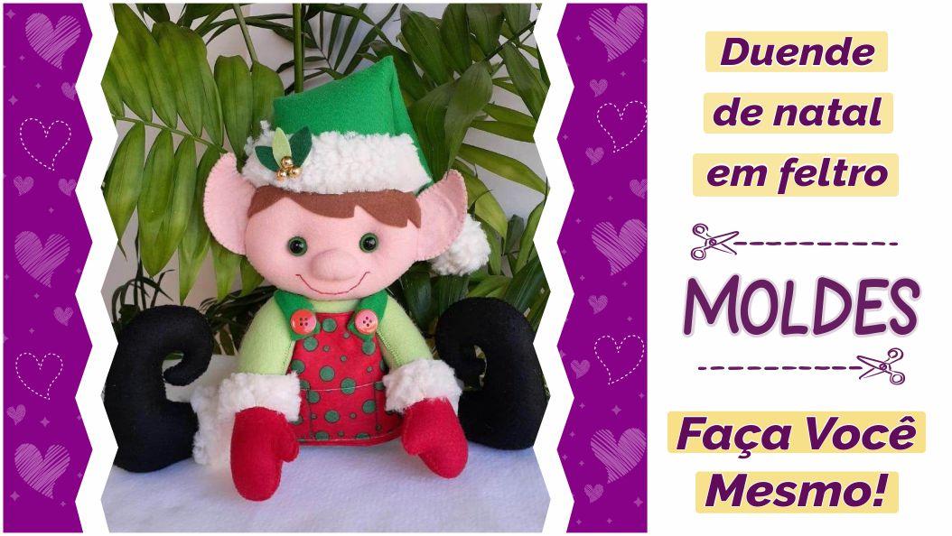 Read more about the article Molde de duende decorativo [façavocêmesmo]