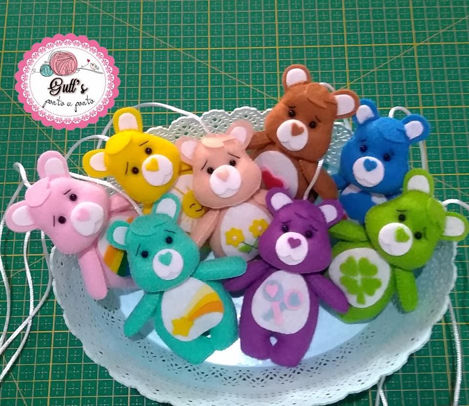 Molde ursinhos carinhosos