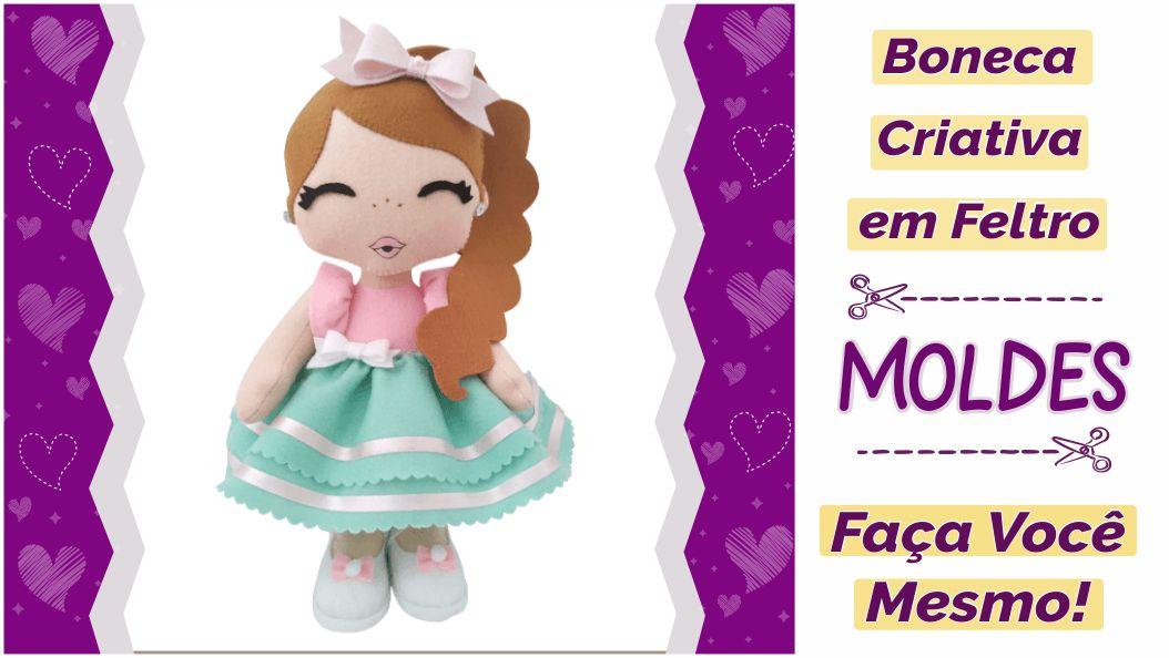 Read more about the article Molde de boneca para imprimir e fazer [DIY]