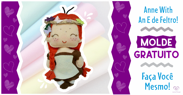 "Boneca ""Anne With an E"" 
