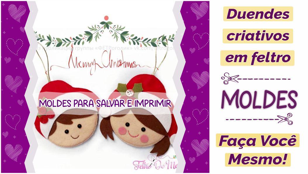 Read more about the article Moldes de duendes criativos para imprimir