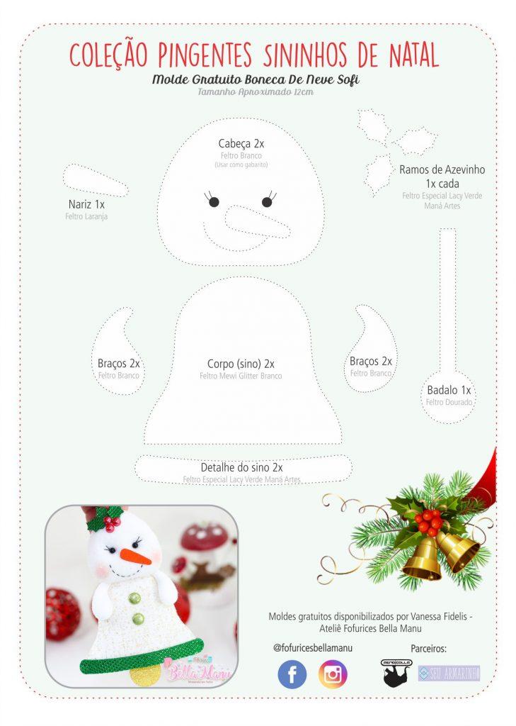 Feltro Artesanato Natal
