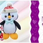 Pinguim de Feltro Natalino | Ideias Criativas | Molde Gratuito