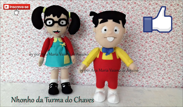Molde Turma do Chaves