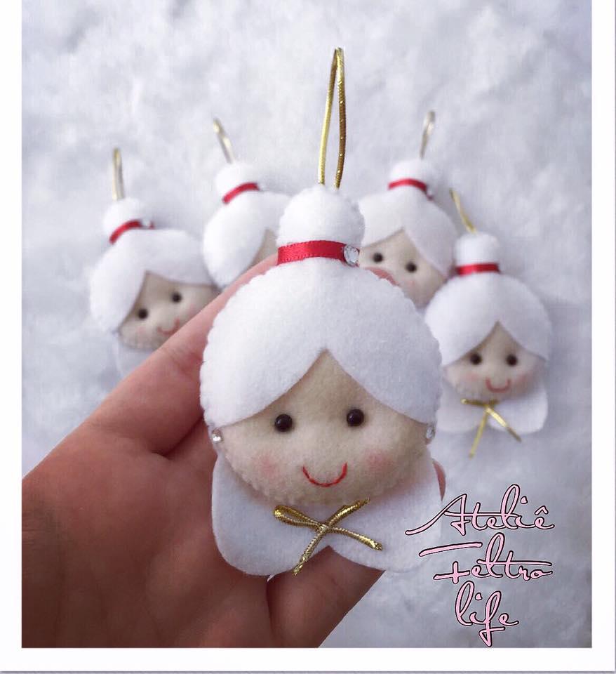Mamãe Noel de Feltro