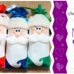 Embalagem para o Natal de Feltro | Ideias Criativas | Moldes