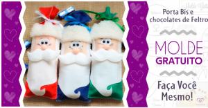 Read more about the article Embalagem para o Natal de Feltro | Ideias Criativas | Moldes