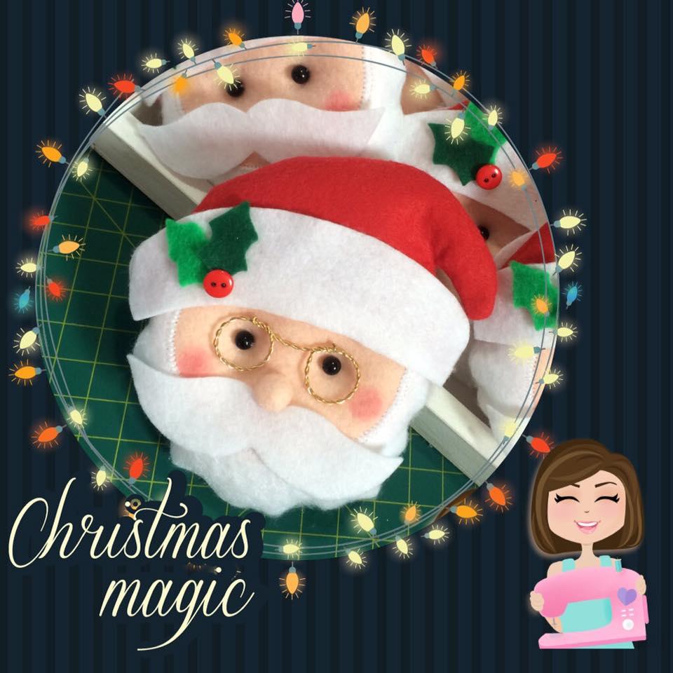 Feltro De Papai Noel