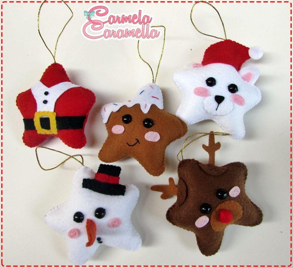 Pingentes Criativos de Natal