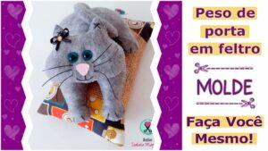 Read more about the article Peso de Porta Criativo: Faça Você Mesmo | Molde Completo
