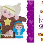 Presépio de Feltro | Ideias Criativas para o Natal