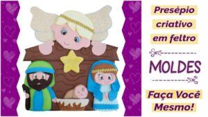 Read more about the article Presépio de Feltro   Ideias Criativas para o Natal