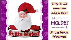Read more about the article Enfeite de porta para o natal com molde completo [DIY]