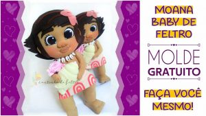 Read more about the article Moana Baby de Feltro | Molde para Imprimir | Faça Você Mesmo!