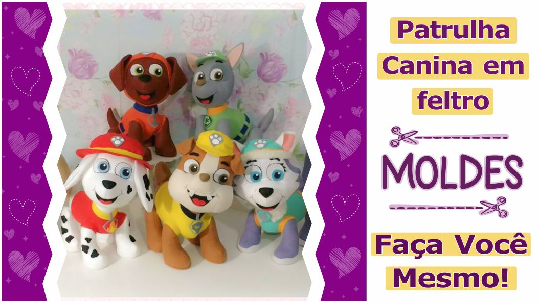 Read more about the article Moldes da Patrulha Canina: faça você mesmo – diy
