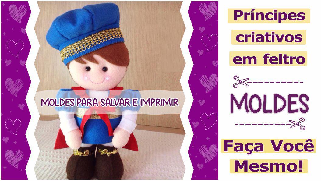 Read more about the article Moldes de príncipes para imprimir – DIY