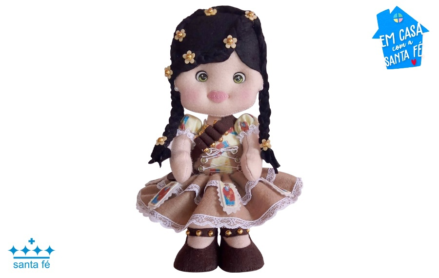 Boneca Maria Bonita